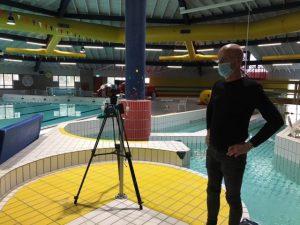 Luchtmeting binnenzwembad WLN