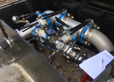 Anaerobe actiefkoolfiltratie ruwwater Noordbargeres